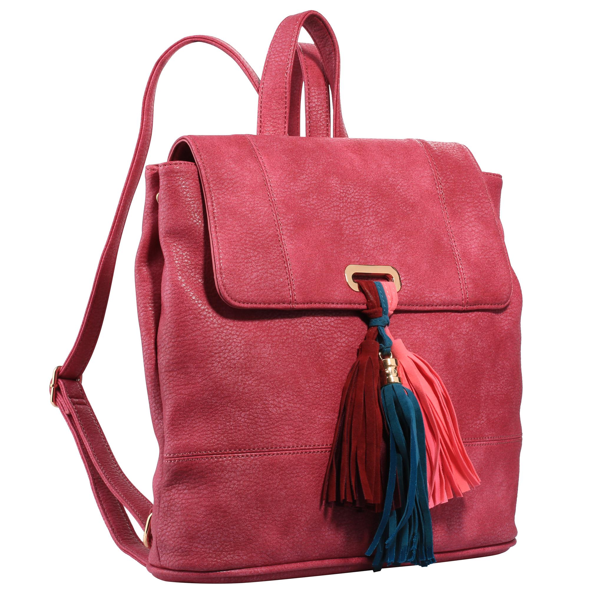 bee10326eb15 Женские рюкзаки из искусственной кожи в Москве. Купить женский (кожзам)  рюкзак в интернет-магазине Tasche.ru