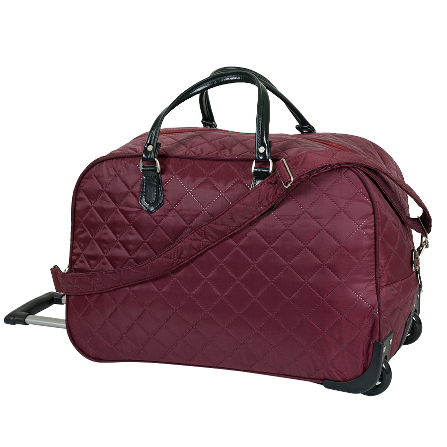 купить сумку на колесах женскую